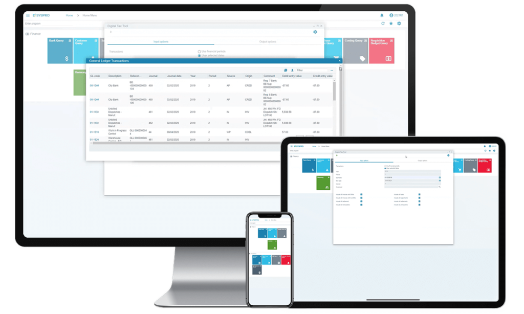 Integration-&-Automation-Devices - SYSPRO - ERP - software - system